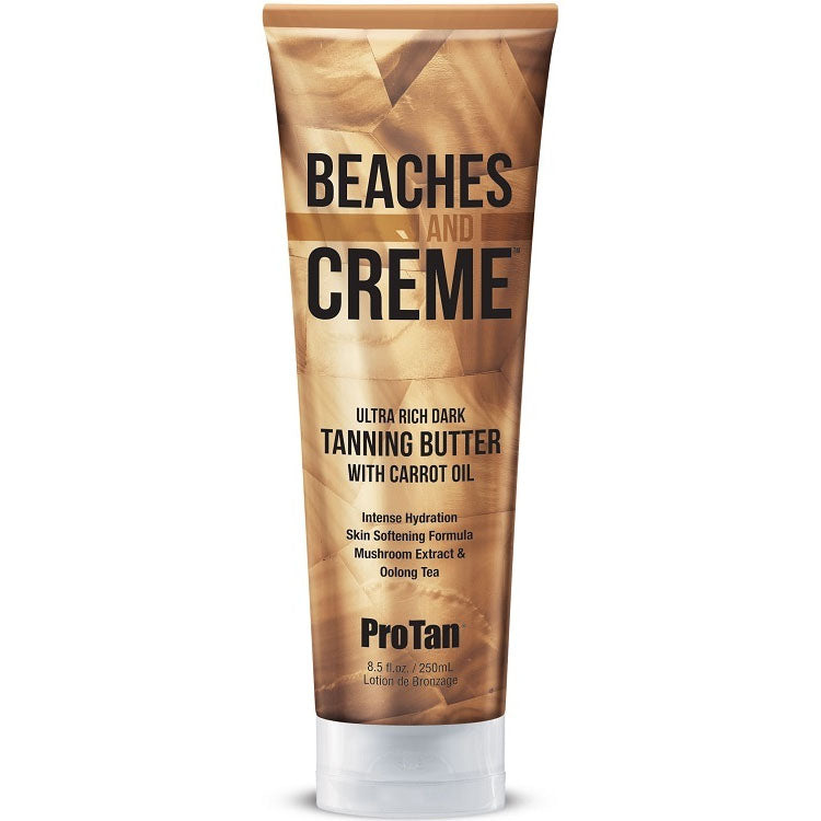 Pro Tan Beaches and Creme Tanning Intensifying Lotion For Indoor and Outdoor Tanning
