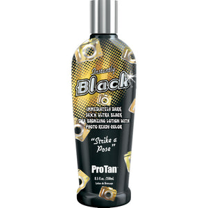 Pro Tan Instantly Black Paraben Free Tanning Lotion Bronzer with Aloe and Vitamins A & E