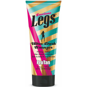 Pro Tan Luscious Legs Tanning Lotion Bronzer for Indoor Tanning Beds