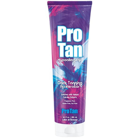 Pro Tan Hypoallergenic Accelerator Tanning Lotion For Indoor Tanning Beds
