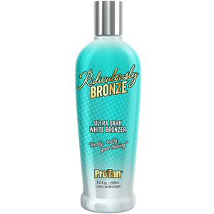 Pro Tan Ridiculously Bronze Ultra Dark White Bronze Tanning Lotion