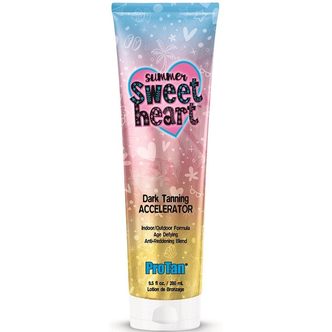 Pro Tan Summer Sweetheart Tanning Lotion Accelerator for Indoor and Outdoor Use