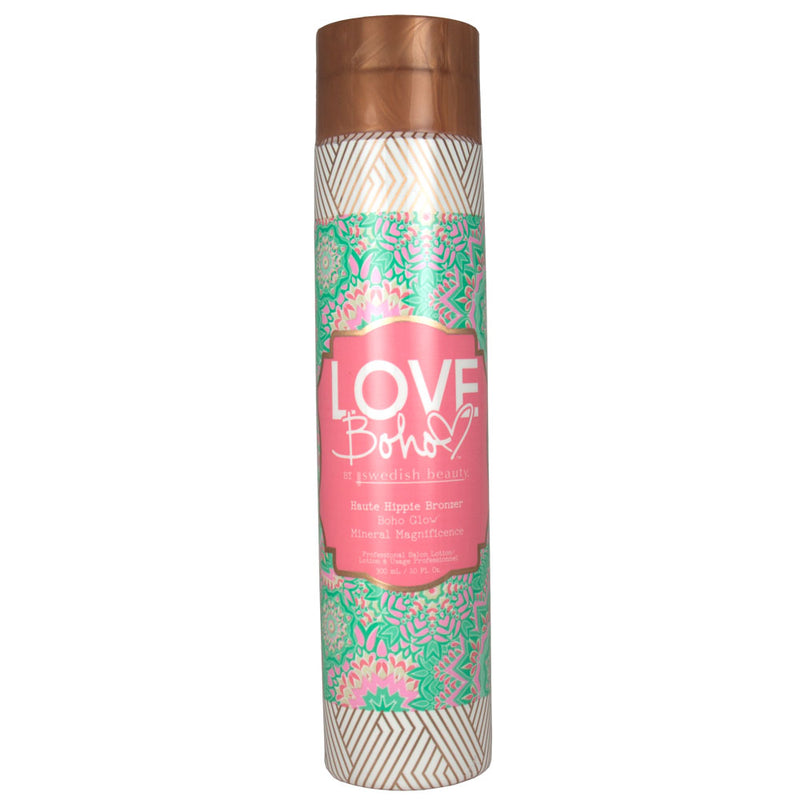 Swedish Beauty Love Boho Haute Hippie DHA Bronzer Indoor Tanning Bed Lotion