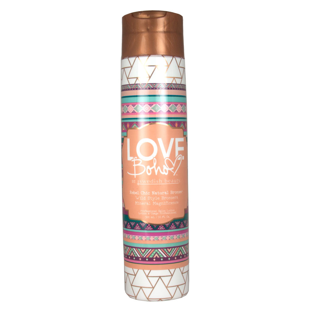 Swedish Beauty Love Boho Rebel Chic Natural Bronzer Indoor Tanning Bed Lotion