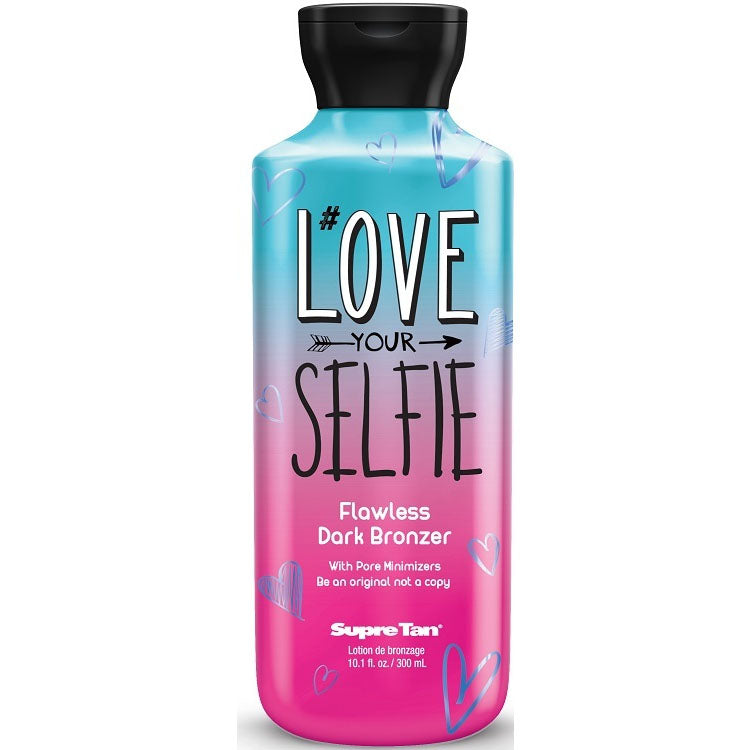 Supre Tan Love Your Selfie Flawless Dark Bronzing Tanning Lotion for Indoor Tanning