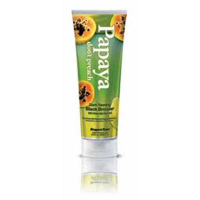 Supre Papaya Don't Preach Bronzer Tanning Lotion