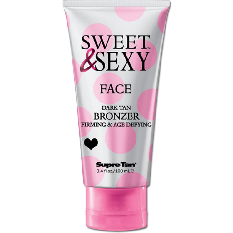 Supre Tan Sweet & Sexy Facial Bronzer Tanning Lotion