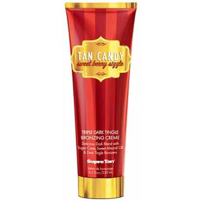 Supre Tan Candy Sweet Berry Sizzle Tanning Lotion