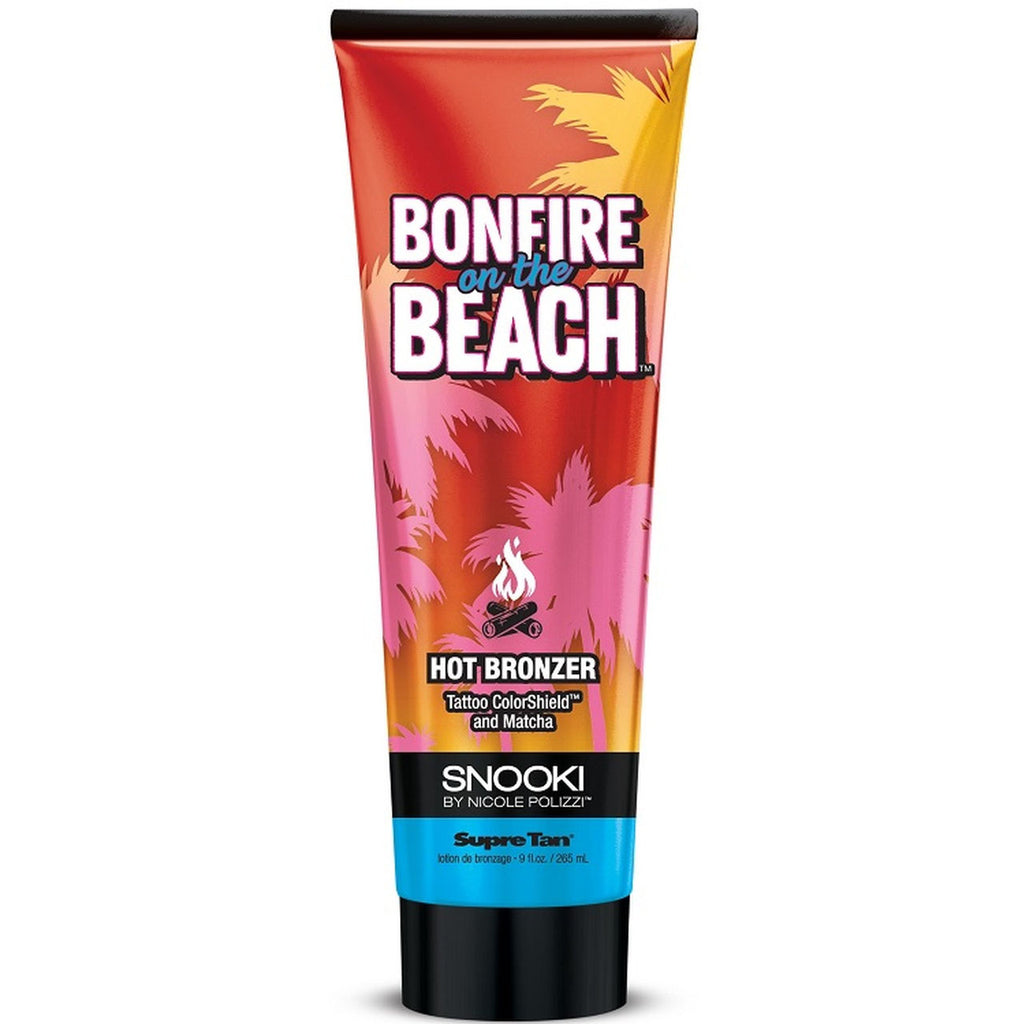 Supre Tan Snooki Bonfire at the Beach Hot Bronzer Tanning Lotion