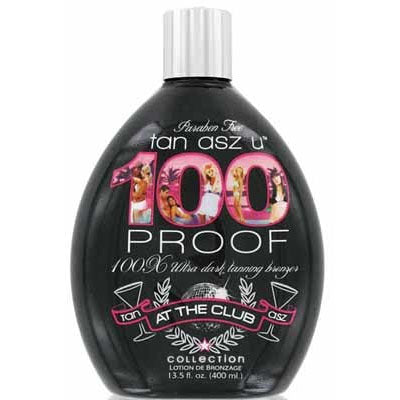 Tan Asz U 100 Proof Tanning Lotion