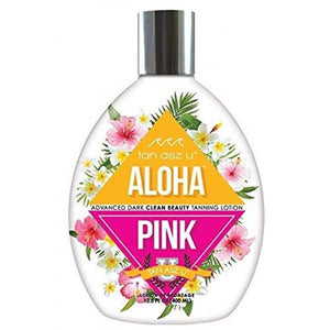 Tan Asz U Aloha Pink Advanced Dark Clean Beauty Tanning Lotion