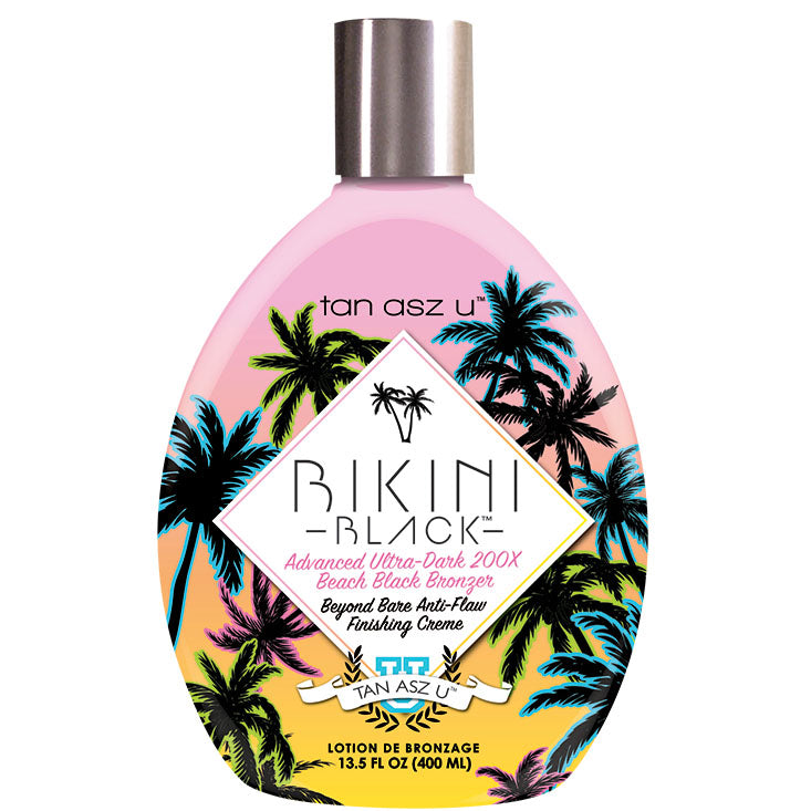 Tan Asz U Bikini Black Bronzer Tanning Lotion for Indoor Tanning Salons