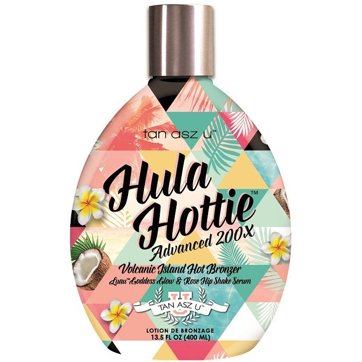 Tan Asz U Hula Hottie Hot Tingle Bronzing Tanning Lotion for Indoor Tanning Beds