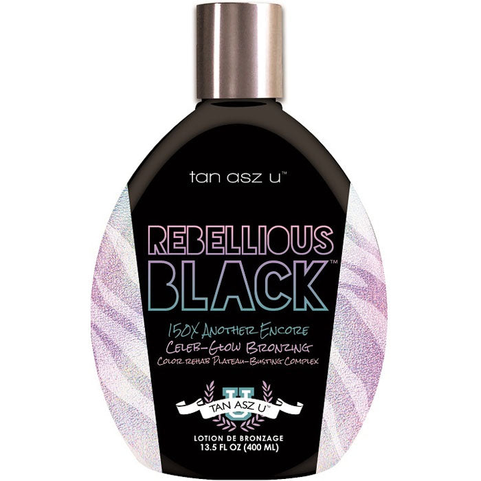 Tan Asz U Rebellious Black Tanning Lotion for Indoor Tanning Beds