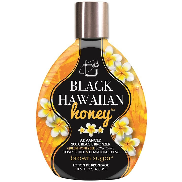Tan Incorporated Black Hawaiian Honey Bronzing Tanning Lotion for Indoor Tanning