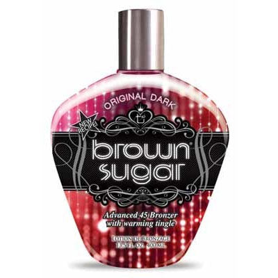 Tan Incorporated Brown Sugar Original Dark Tingle Tanning Lotion