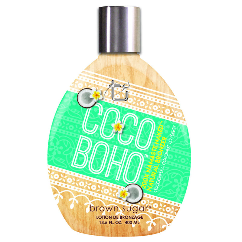 Tan Incorporated Coco Boho Natural Bronzing Tanning Lotion for Indoor Tanning