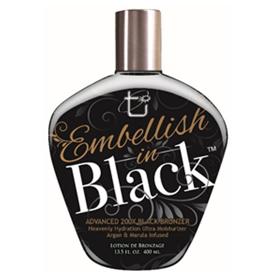 Tan Incorporated Embellish in Black Tanning Lotion
