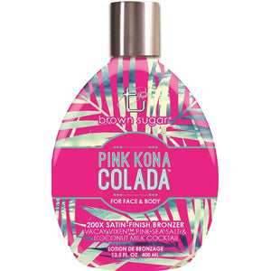 Tan Incorporated Pink Kona Colada Bronzing Indoor Tanning Bed Lotion