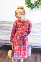The Chrissy Red Plaid