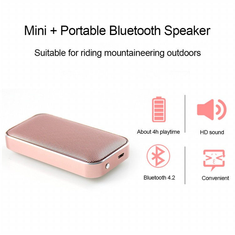 Portable Pocket Wireless Bluetooth Speaker