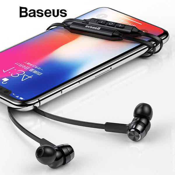 Bluetooth Neckband Earphones for iPhone