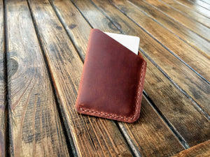 Leather Card Case (Cognac) - Nebo Workshop