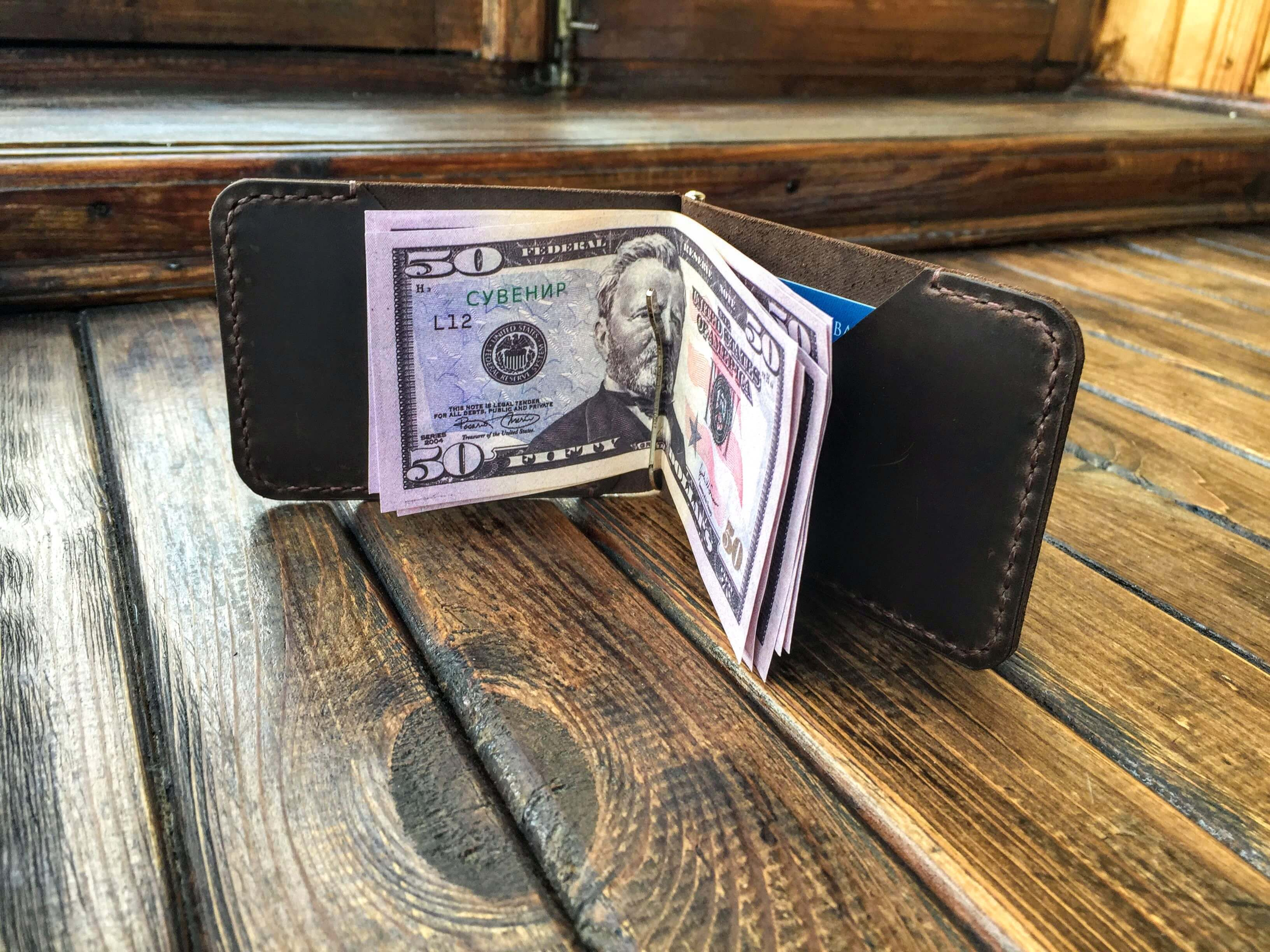 handctafted money clip