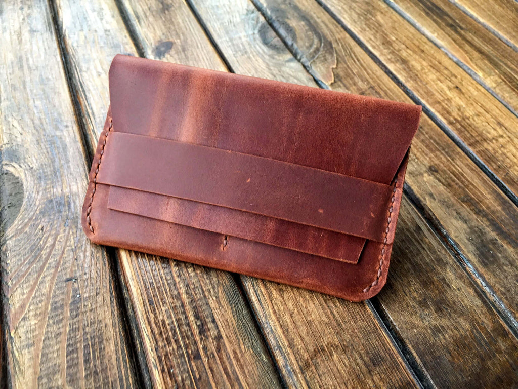 leather travel passport wallet