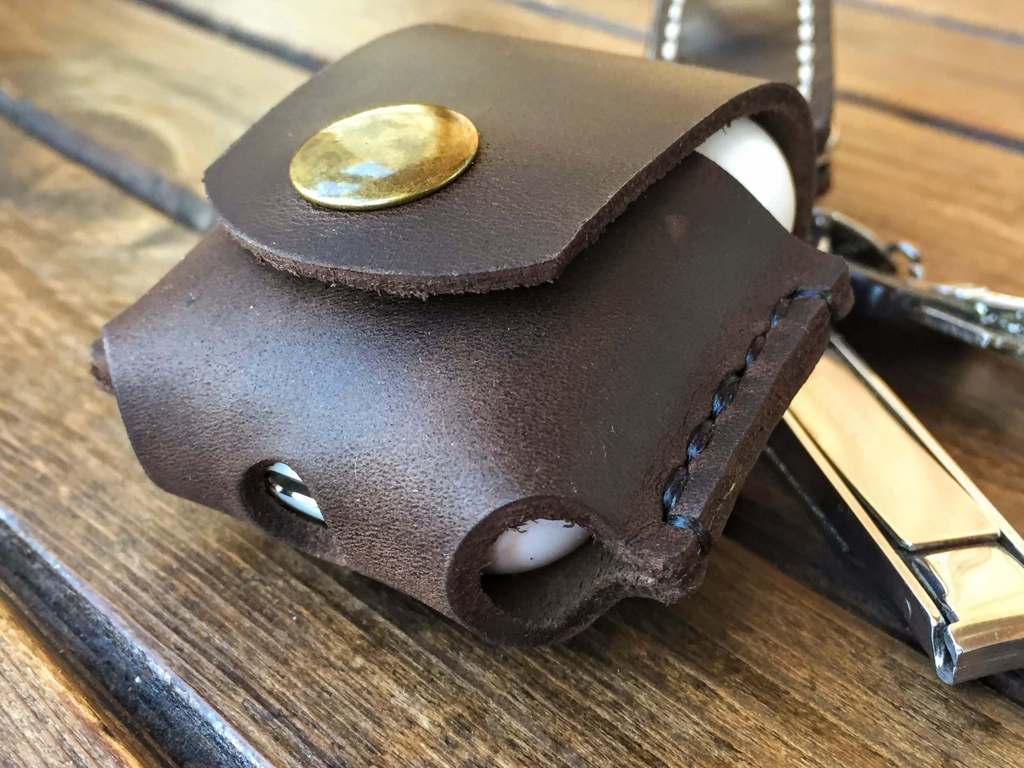 airpods leather case cover
