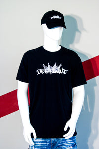 Destique Black Logo Tee
