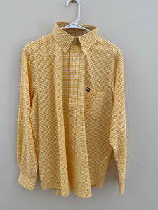 Yellow Plaid LS