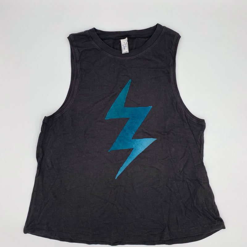 Lightning Bolt Muscle Tee (multiple colors)
