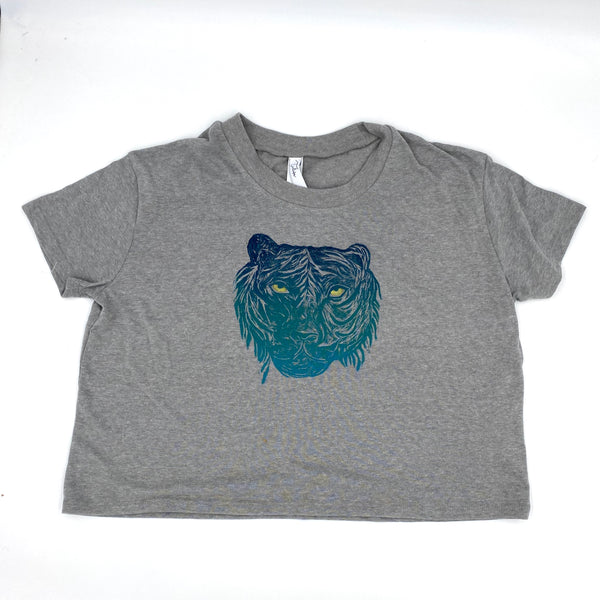 Henry the Tiger Crop Tee (multiple colors)