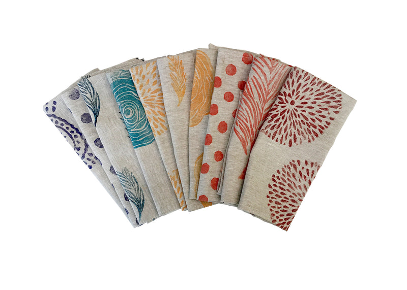 Collection of Linen Napkins by Tulusa
