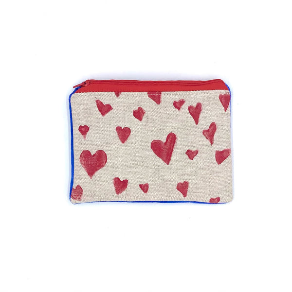 Heart Pouches | Valentine's Day Collection