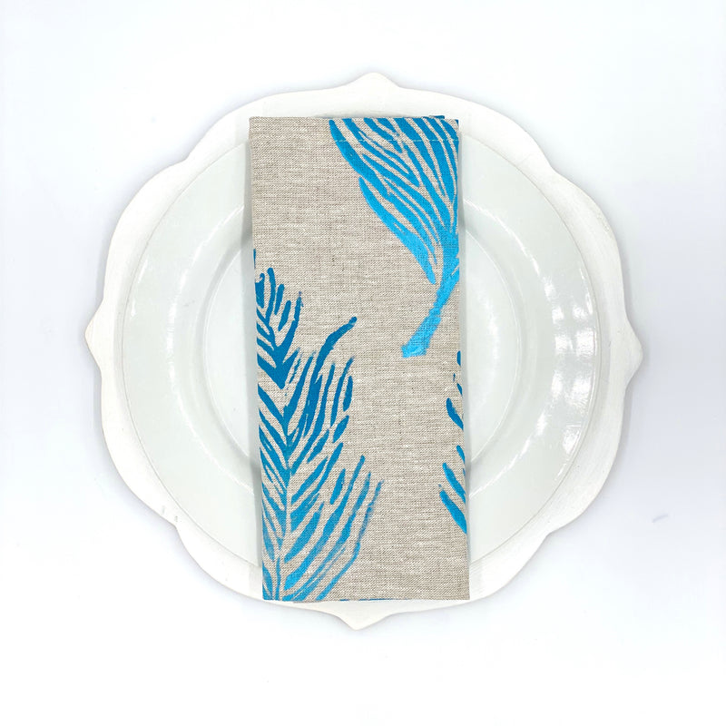 Linen Napkins in Feather Ombré (Set of 4)