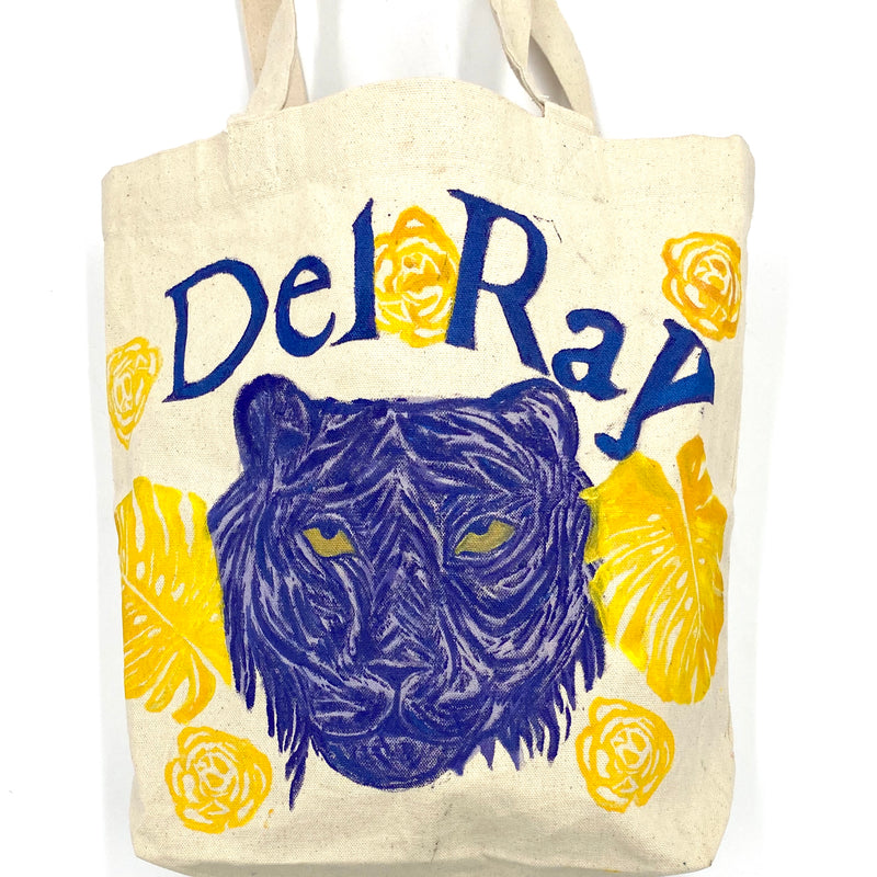 Tiger Tote for a Cause - Del Ray Edition in Purple