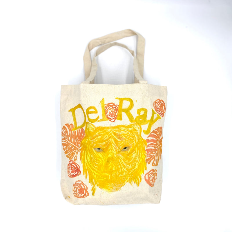 Tiger Tote for a Cause - Del Ray Edition in Yellow