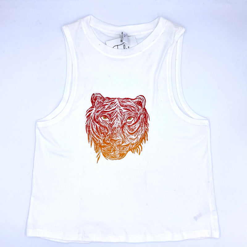 Henry the Tiger Muscle Tee (multiple colors)