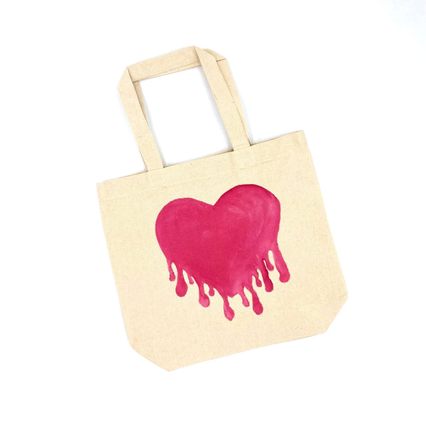 Heart Totes (2 Designs + Monogram) | Valentine's Day Collection