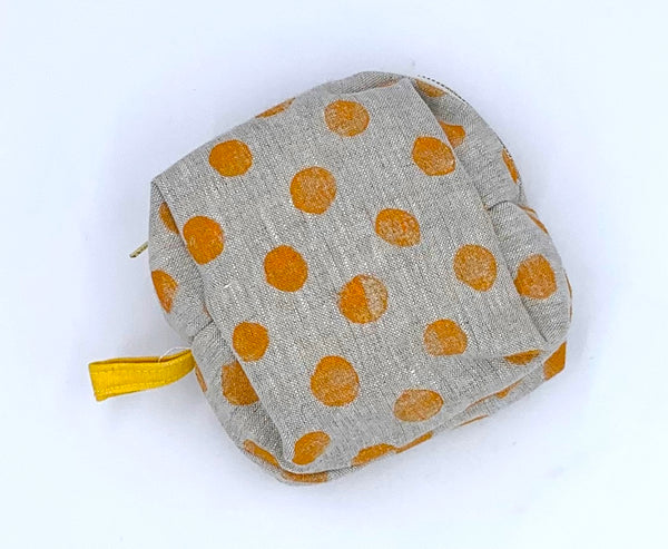 Petite Traveler Kit in Mango Dots