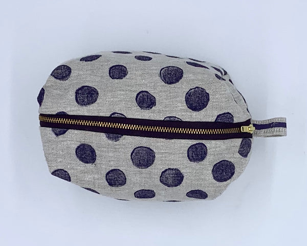 Traveler Kit in Purple Dots