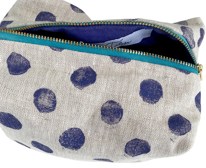 Traveler in Purple Haze Polka Dots