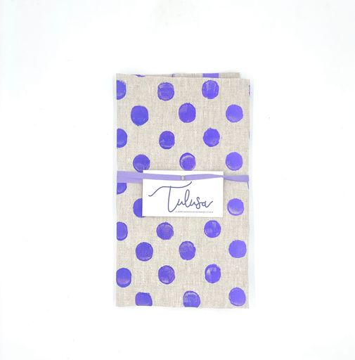 Linen Tea Towels in Purple Haze (10 patterns)