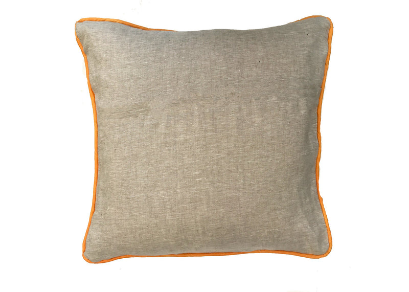pineapple flower pillow in mango back|Tulusa
