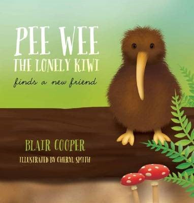 Pee Wee The Lonely Kiwi + Free Toy