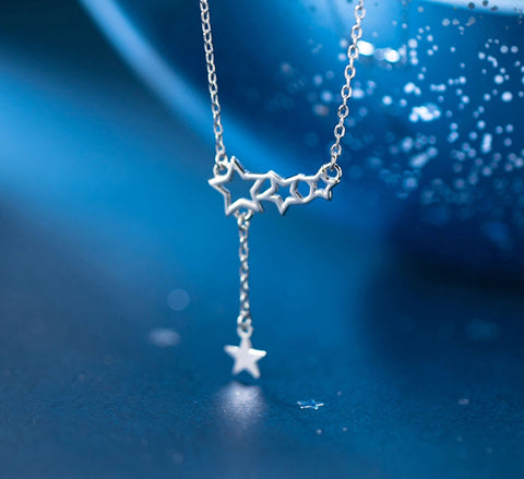 Sterling Silver Necklace - Twinkle Star