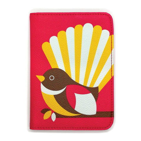 Passport Holder - Iconic Fantail