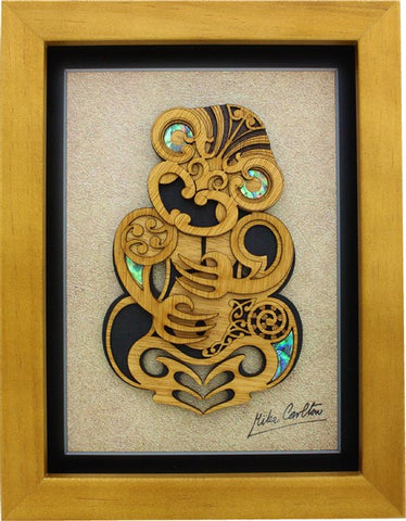 Framed Art - Large Framed Tiki